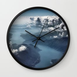 Cloud's Illusions Wall Clock
