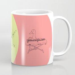 Keytar Platypus Venn Diagram - GYR Coffee Mug