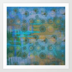 Sunshine after the rain Art Print