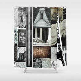 Collage - Climate Shower Curtain