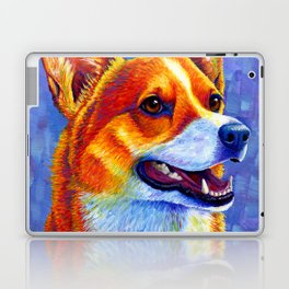 Colorful Pembroke Welsh Corgi Dog Laptop & iPad Skin