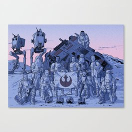 Imperial Victory Canvas Print