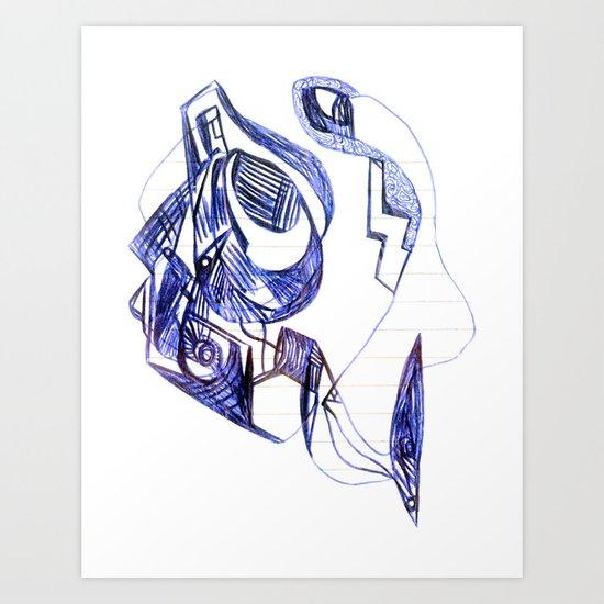 1996 x (a) Art Print