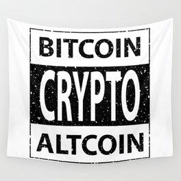 Bitcoin Altcoin Crypto - Inverse Wall Tapestry