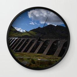 Stwlan Dam Wall Clock
