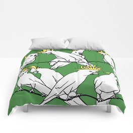 Cockatoos Comforters