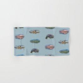 Highland Landmarks in blue Hand & Bath Towel