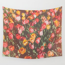 Tulip Field Wall Tapestry