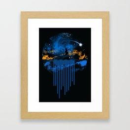 Hunters Stars Framed Art Print