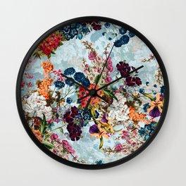 Summer Botanical Garden VIII Wall Clock