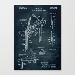 1989 - Ultility golf tool Canvas Print
