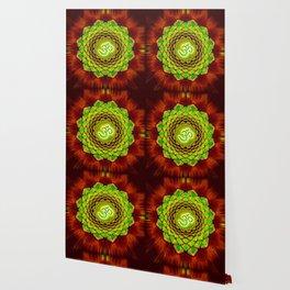 Om Lotus - Green Spirit Wallpaper