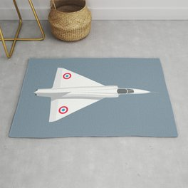 Mirage III Fighter Jet - Slate Rug