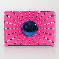 artrave iPad Cases featuring artRAVE Gazing Ball by ARTPOPdesigns