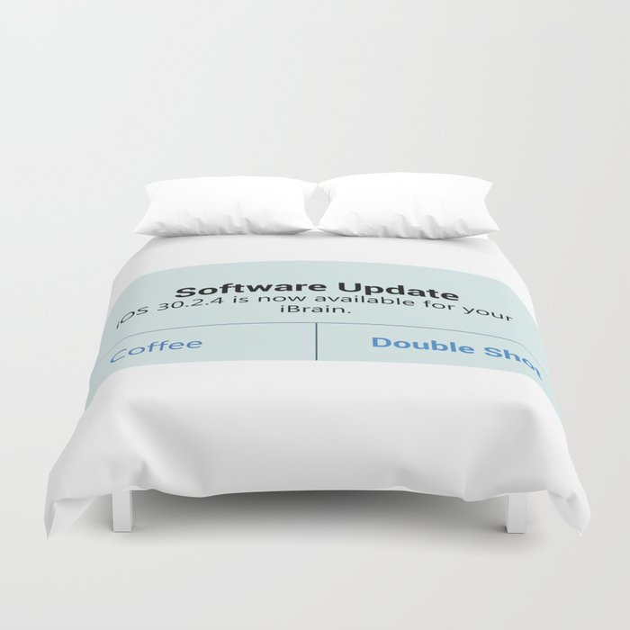 iCoffee - coffee - update Duvet Cover