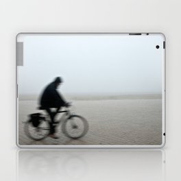 Bike in Mist Laptop & iPad Skin