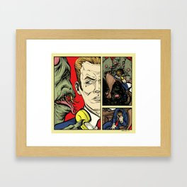 You Make The Call Framed Art Print