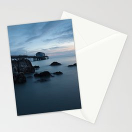 Mumbles Pier Morning Stationery Cards