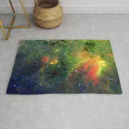 Galactic Snake in Infrared Milky Way Rug