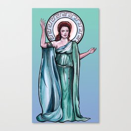Goddess of Empathy Canvas Print