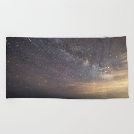 Shooting stars and the Milkyway Beach Towel