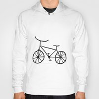 bike Hoodies featuring Bike by Kristijan D.