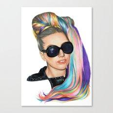 Tokyo Rainbow Canvas Print