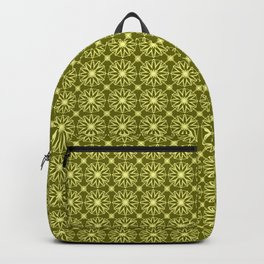 Green Citrus Pattern Backpack