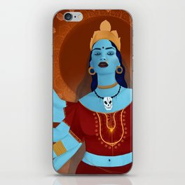 kali, the destroyer iPhone Skin