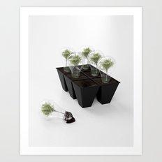 Eco Bulb 6 pack Art Print