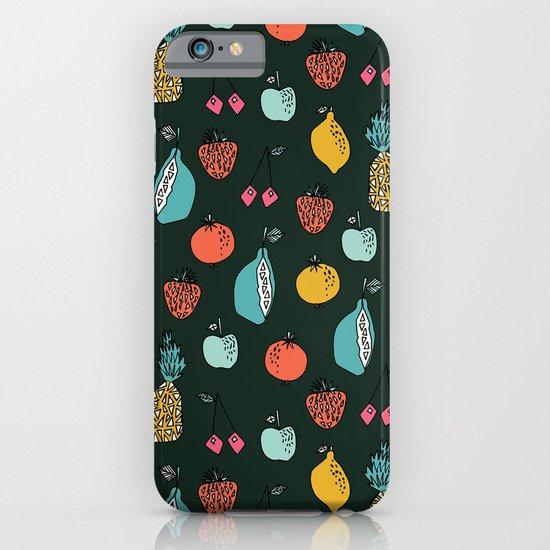 Tutti Fruit Pattern by Andrea Lauren iPhone & iPod Case