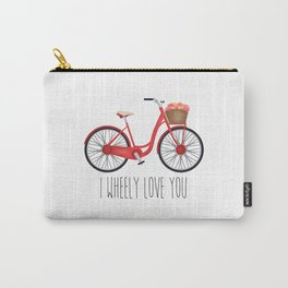 I Wheely Love You Carry-All Pouch