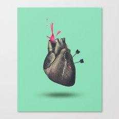 heart of sugar Canvas Print