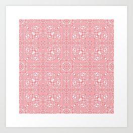 symmetry 3 Art Print
