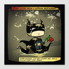 Bad Bat-lentines Canvas Print