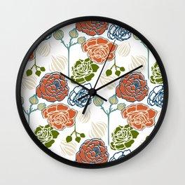 Gardenia Light Wall Clock