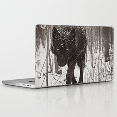Snow Wolf Laptop & iPad Skin