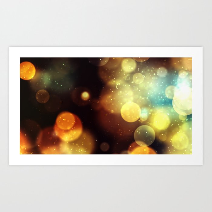 Yellow Star Kunstdrucke