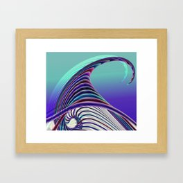 fractal design -23- Framed Art Print