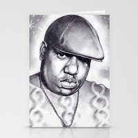 notorious Stationery Cards featuring Notorious by DaeSyne Artworks