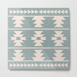 Southwestern Pattern 127 Metal Print
