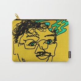 Bef - mustard Carry-All Pouch