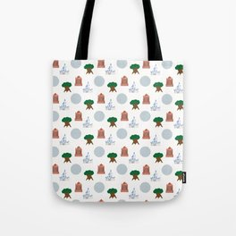 Iconic Theme Parks Tote Bag