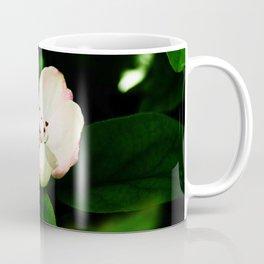 Quince Pink Flower and Bud Coffee Mug
