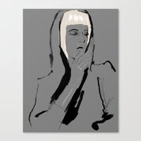 musa Canvas Prints featuring Musa de Platino by RobGiordano4