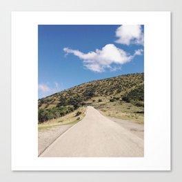 The Road to Grazalema from Zahara de la Sierra Canvas Print