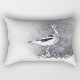 American Avocet. Rectangular Pillow