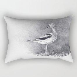 American Avocet. Rectangular Pillow