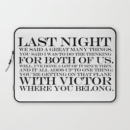 quoting Hollywood 14 Laptop Sleeve