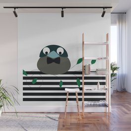 Distinguished Bird Wall Mural